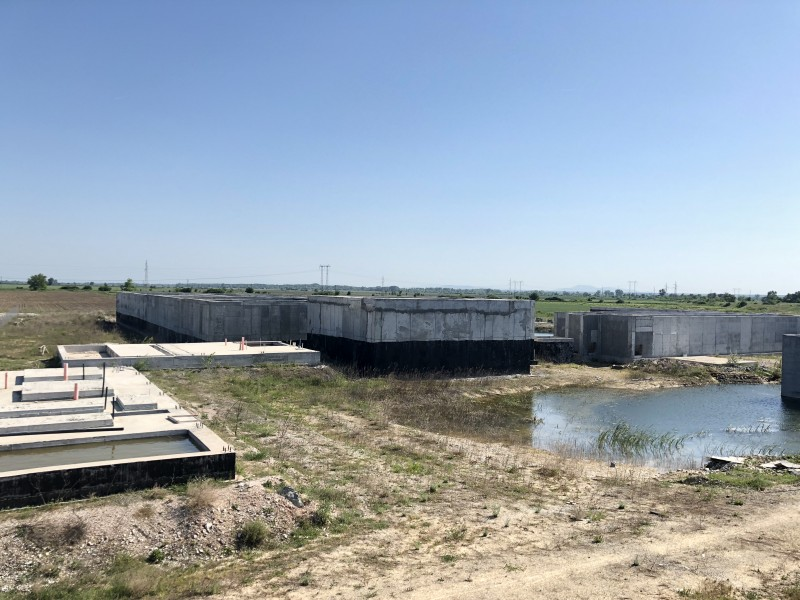 Доизграждане на пречиствателна станция за отпадни води (ПСОВ) с довеждащи комуникации и реконструкция на Главен Колектор IX
