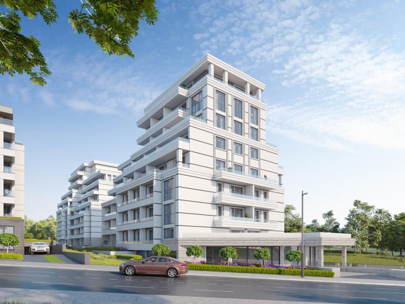 """Жилищна сграда """"Montevideo Residence"""""""
