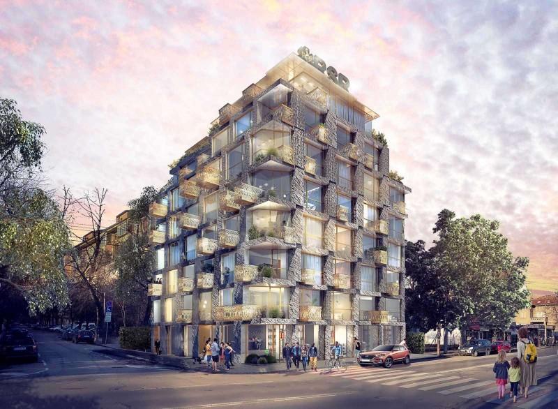 Жилищна сграда с магазини и подземни гаражи, бул.Г.Софийски